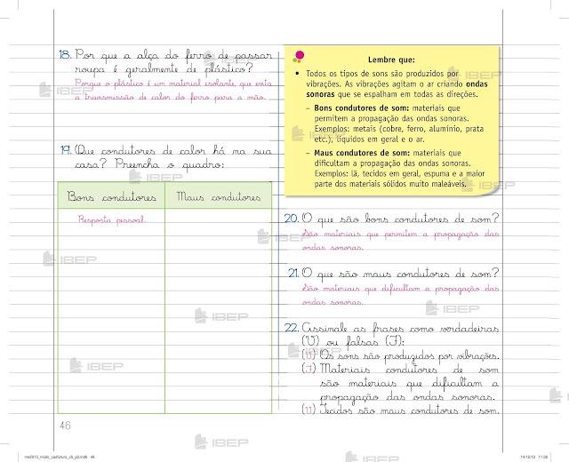 Caderno do Futuro de Ciencias 5 Ano