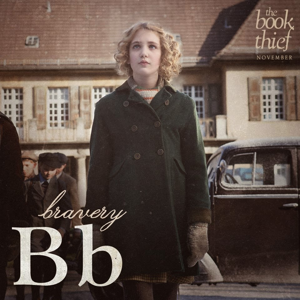 the book thief letters b bravery