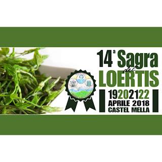 Sagra del Loertis dal 19 al 22 aprile Castel Mella (BS)