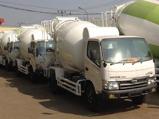 jual truck mixer