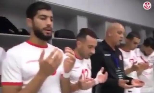 Doa Timnas Tunisia Sebelum Bertanding Lawan Inggris Ini Viral dan Membanggakan