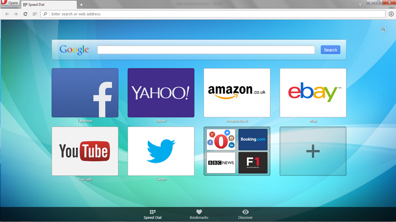 My World Thru A Web Browser: Opera Browser Review