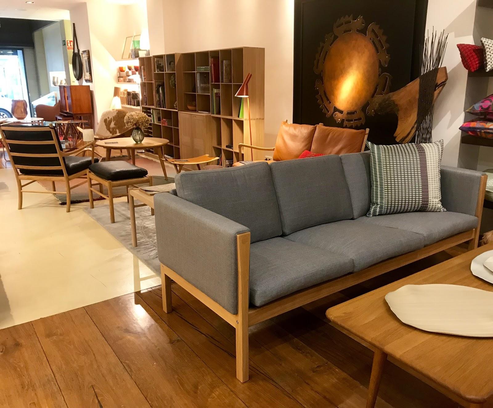 hans wegner sofa ch163 double recliner carl hansen en exposicion chic soul tela kvadrat