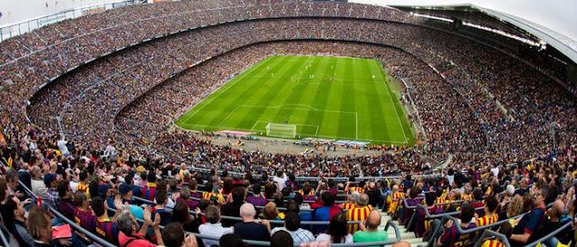 Camp Nou, el más visitado (Barcelona)