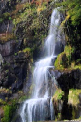 Christine Falls,  Mt. Rainier National Park.