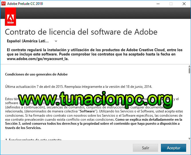 Descargar Adobe Prelude CC 2018 Full Español