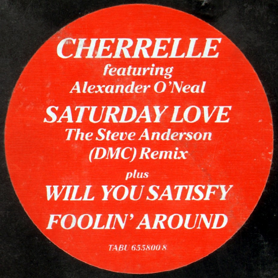 Missing Hits 7 : CHERRELLE - SATURDAY LOVE (DMC REMIX) [RESUBIDO]