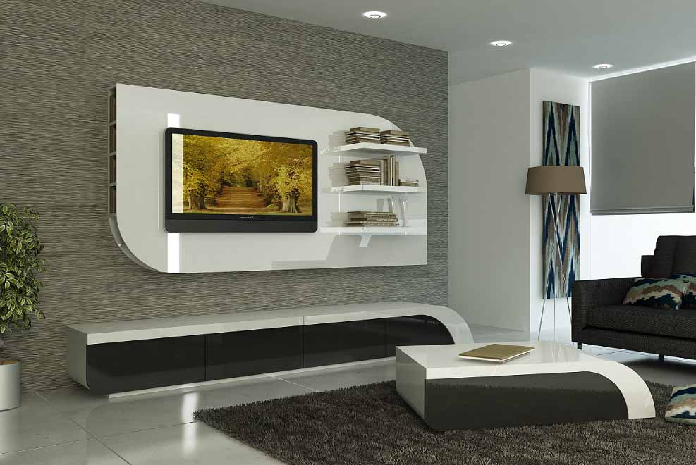 Modern Tv Cabinets Designs 2018 2019 For Living Room Interior