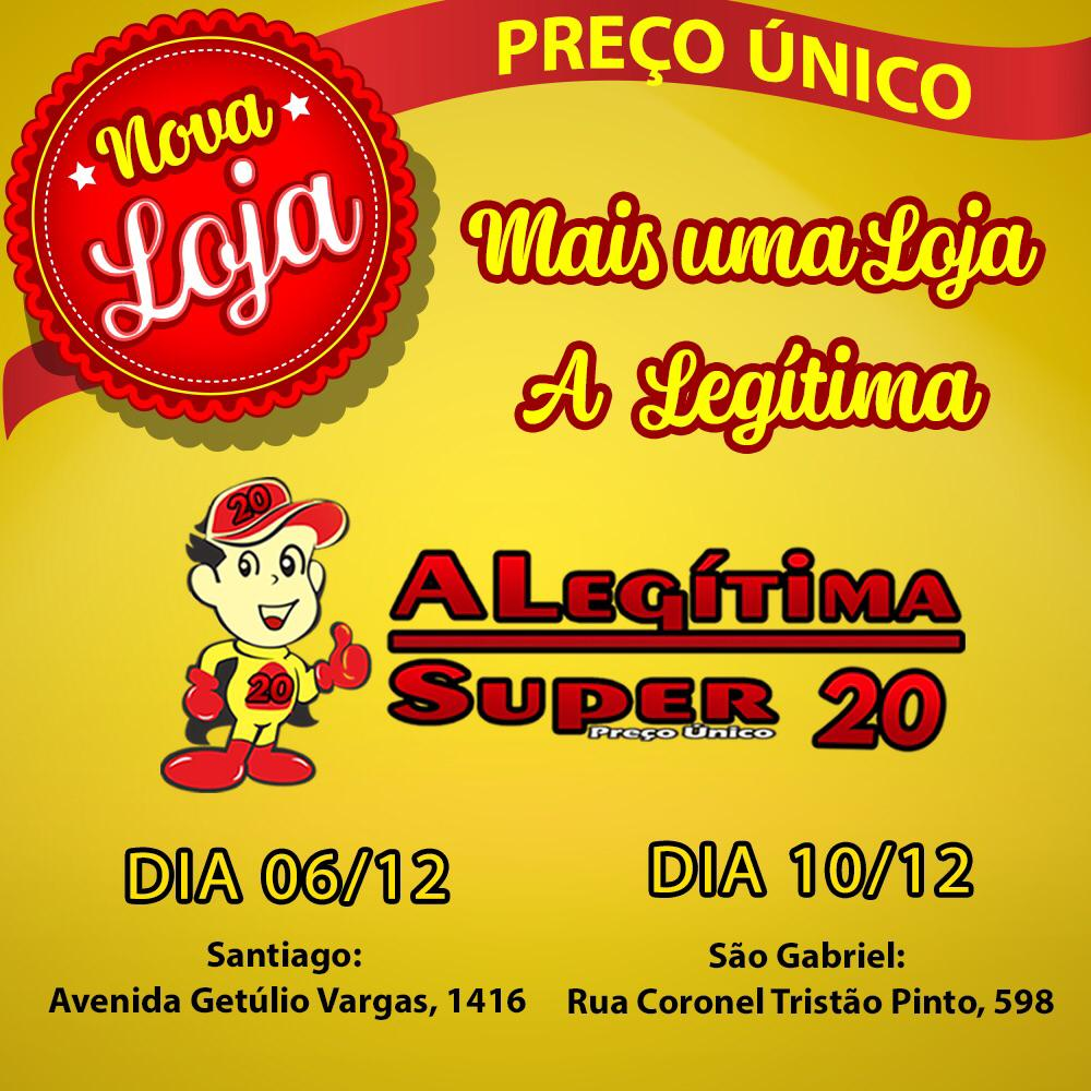 a5d2bc95c A Legítima Super 20 inaugura nesta quinta-feira em Santiago