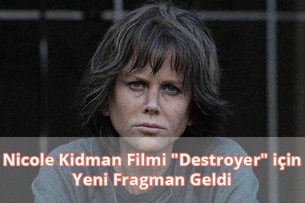 Nicole Kidman Destroyer Fragman İzle