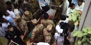 Pakistan organizes official funeral for German nun Ruth Pfau