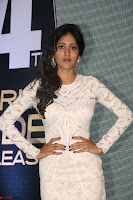 Chandini Chowdary in white Tight dress at Shamanthakamani pre release function ~  Exclusive 029.JPG