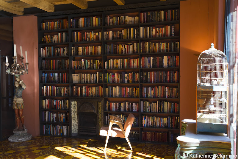 Rooms Hotel Tbilisi Lobby Library Review