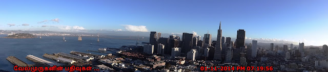 Panoramic views of San Francisco