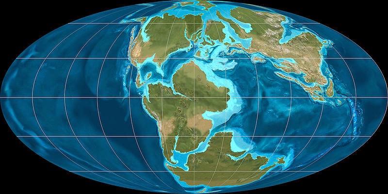 Períodos Geológicos e o Início da Vida na Terra