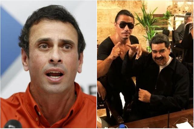 Capriles aseguró que la cena de lujo de Maduro en Turquía fue pagada por Venezuela