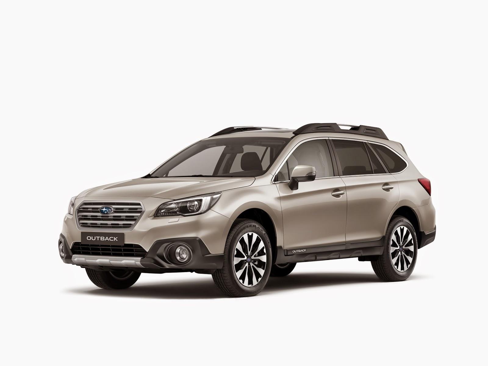 новый Subaru Outback