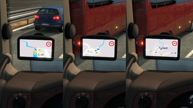 ets 2 google maps navigation v1.7 screenshots 2
