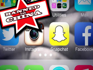Snapchat banned in China