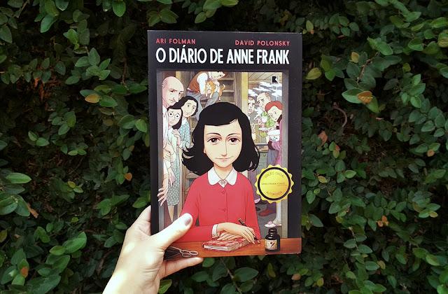 O Diário de Anne Frank - Quadrinhos, de Ari Folman e David Polonsky (#44)