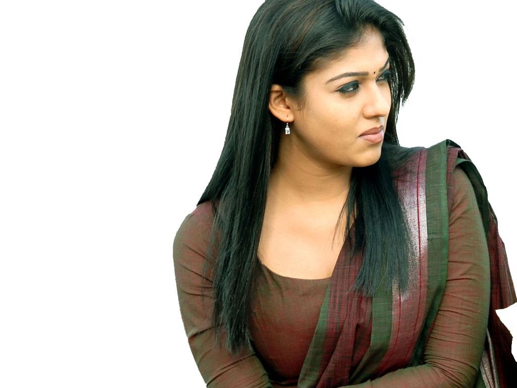 Nayantara Hot Saree Stills - High Resolution Pictures-7707