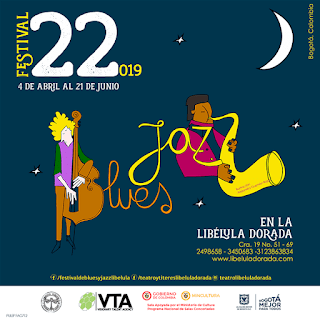 Festival de Blues y Jazz No.22 Libélula Dorada