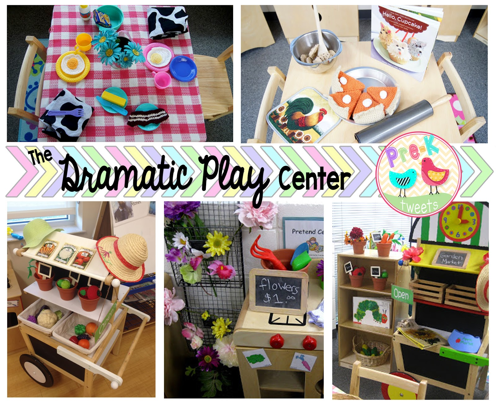 Pre K Tweets Learning Centers Blog Hop Series Dramatic