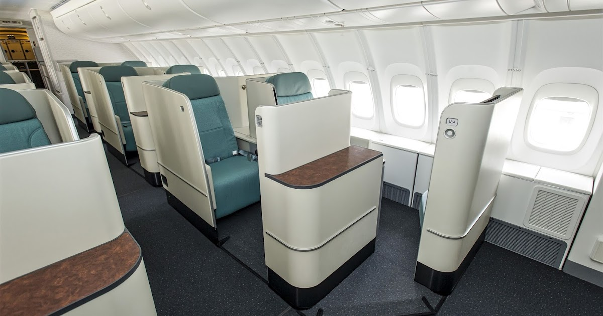 Korean Air Boeing 747 8 First Class Seating Layout