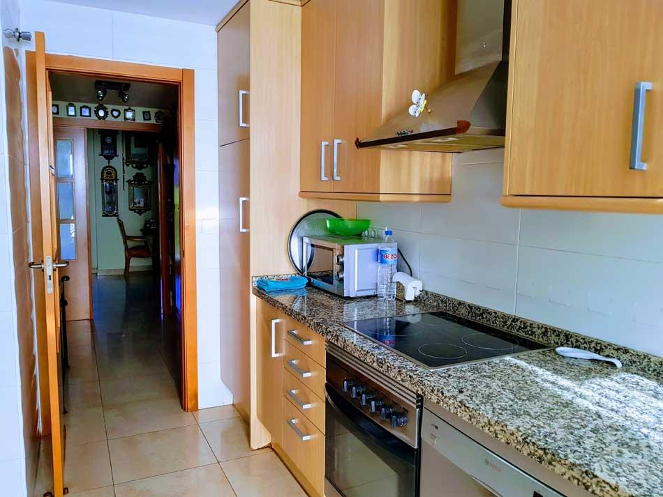 piso en venta zona sensal castellon cocina