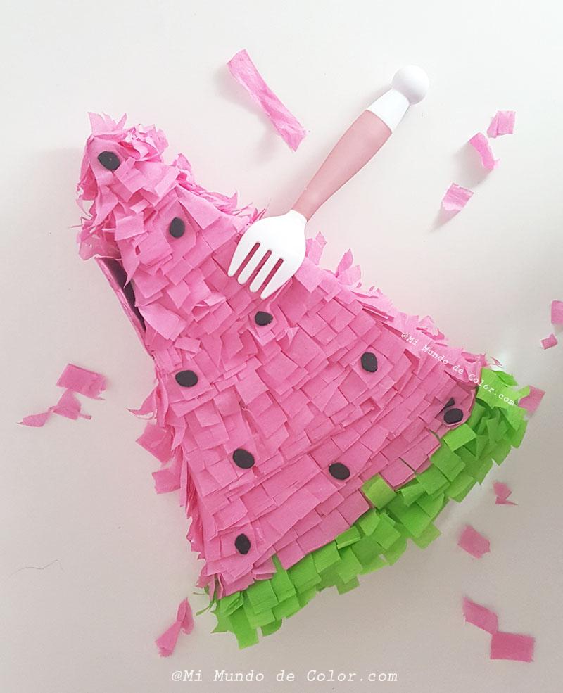 diy mini piñata summer