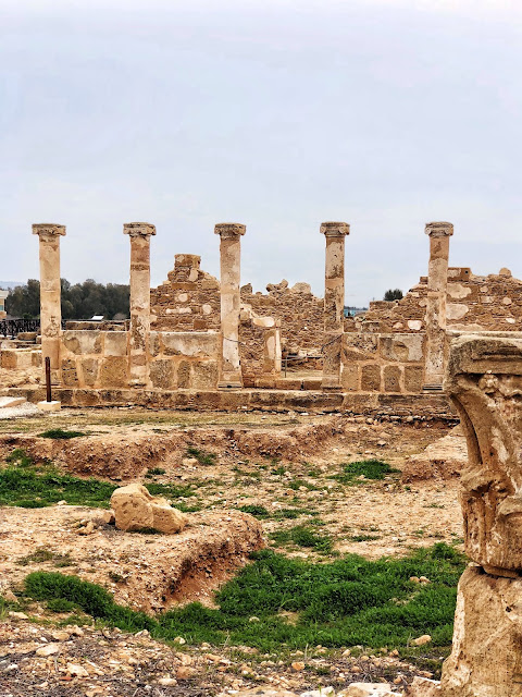 Temple Ruins in Cyprus