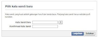 mengatasi lupa password facebook