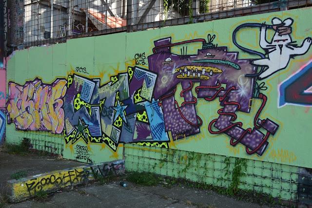 Graffiti Bassin Maastricht