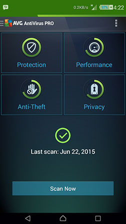 AVG Antivirus Pro v5.4 Apk New Version For Android