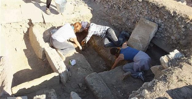 Byzantine church ruins unearthed at ancient city of Adramytteion