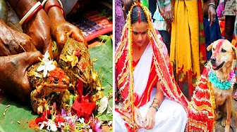 8 Bizarre Indian Wedding Rituals and Traditions
