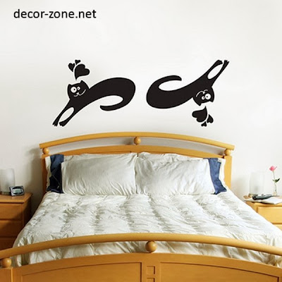 funny vinyl wall stickers for bedroom