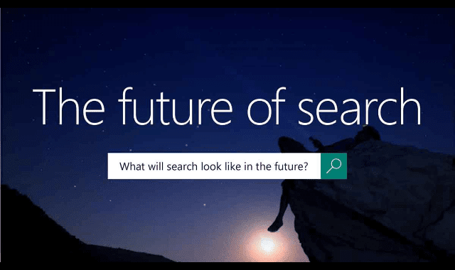 The Future Of Search