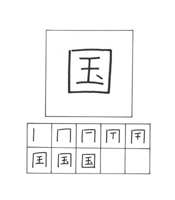 kanji negara