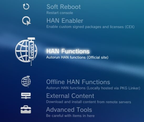 PS3 HAN Toolbox v0 5 - Consoleinfo