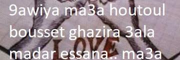 SMS d'Amour arabe darja écrit en français