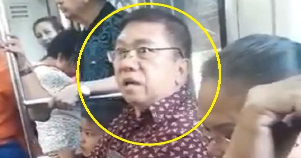 Lawyer Slammed for Arrogantly Making Kids Stand Up at LRT Because He Wants to Sit