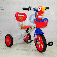 Family F339A Bird BMX Tricycle Red