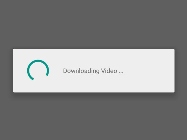 Progress Bar using ProgressDialog in Android Example   Sone