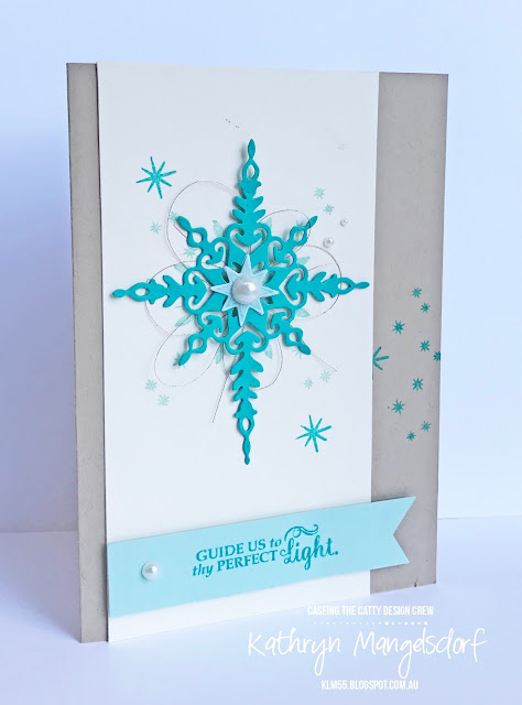 Stampin' Up! Star of Light & Starlight Thinlits Dies created by Kathryn Mangelsdorf