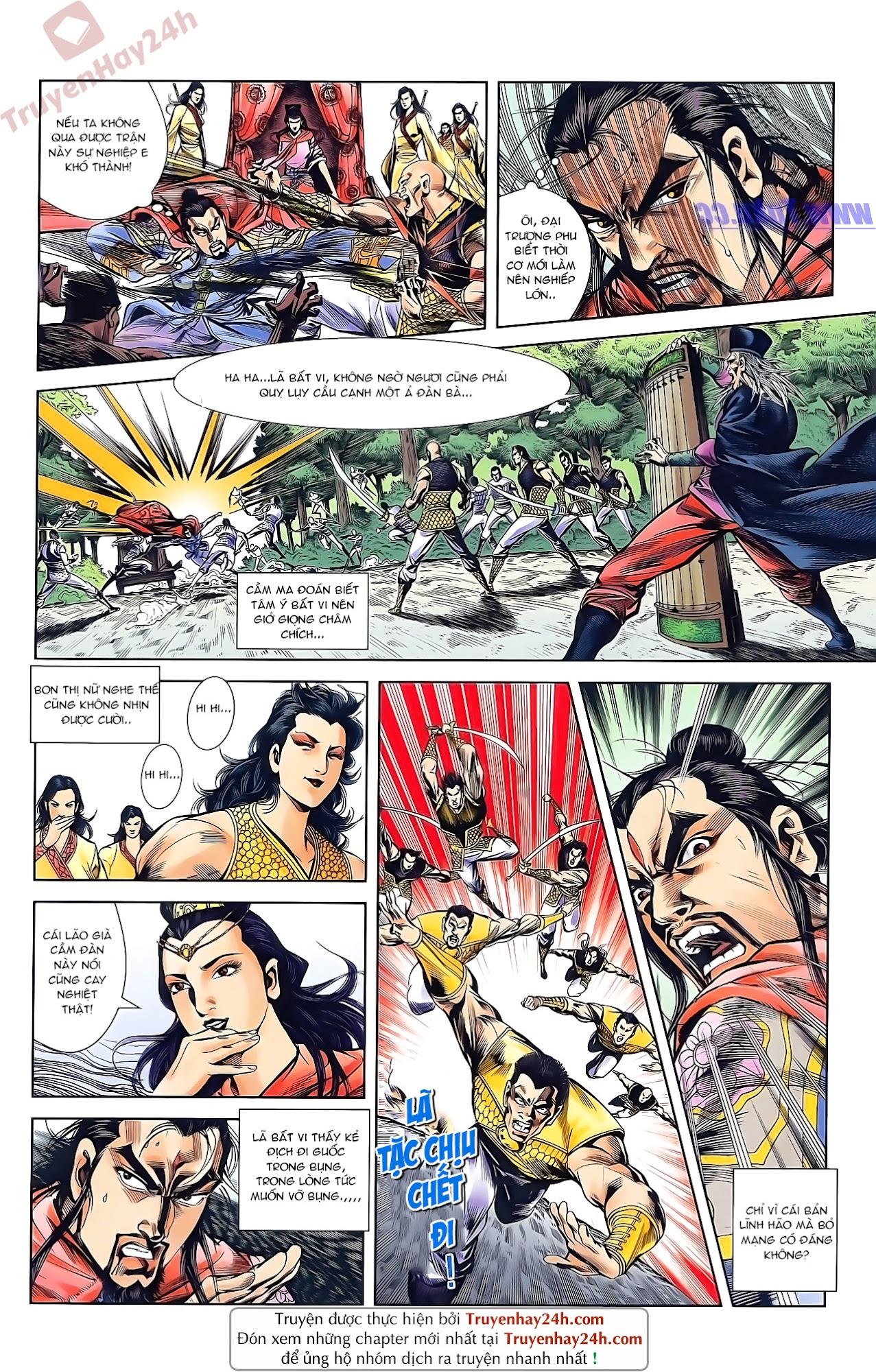 Tần Vương Doanh Chính chapter 46 trang 11