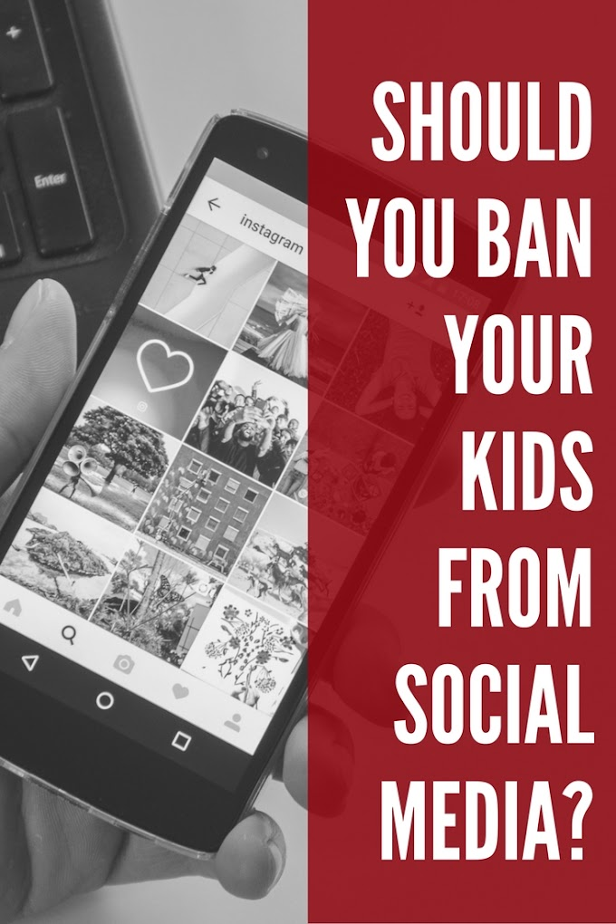 Should You Ban Your Kids From Social Media?