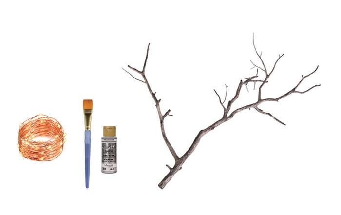 dekoratif duvar lambası yapımı için gerekli malzemeler