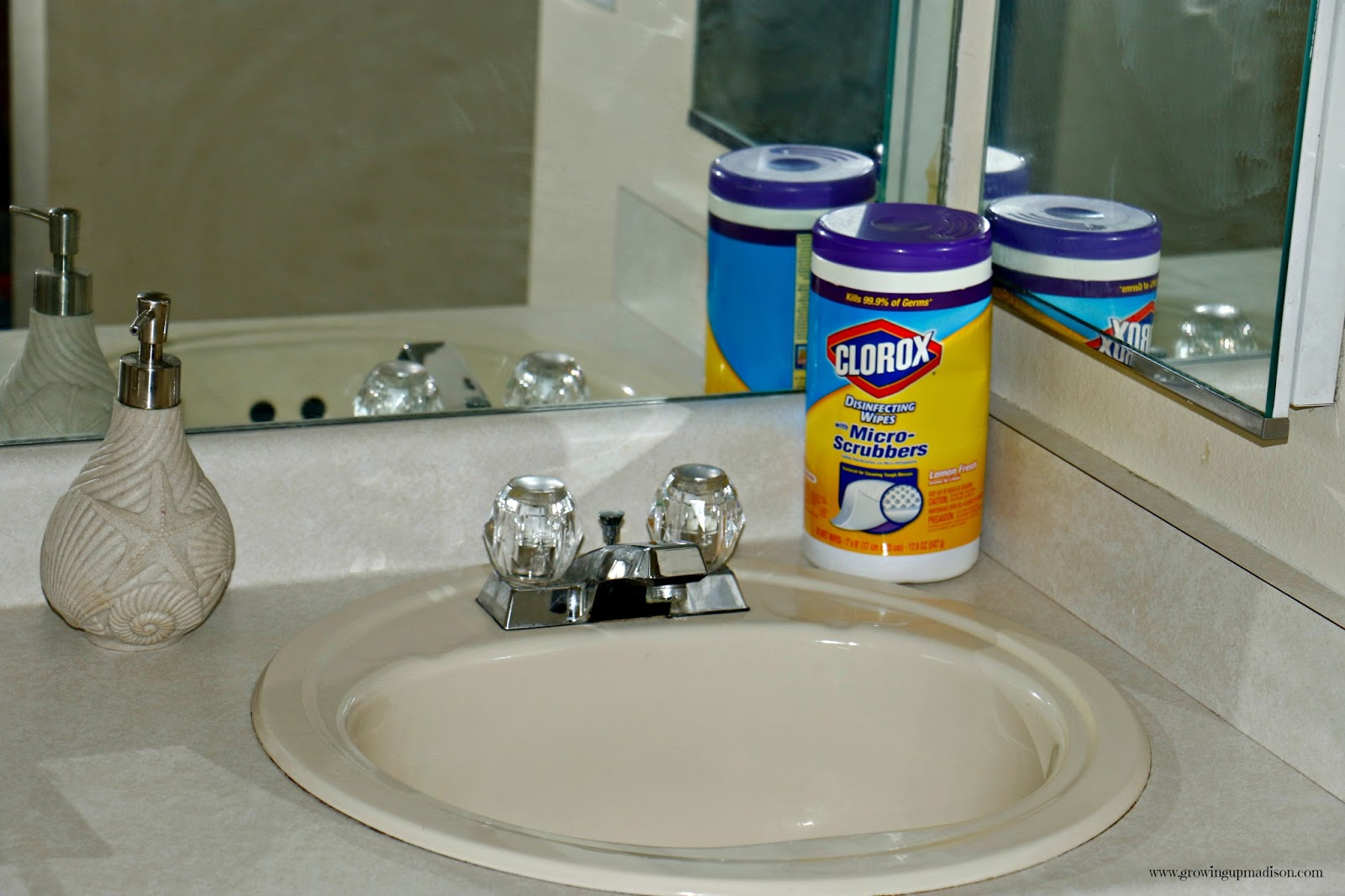 Clean Up With Clorox Disinfecting Wipes With MicroScrubbers - Clorox disinfecting bathroom cleaner for bathroom decor ideas