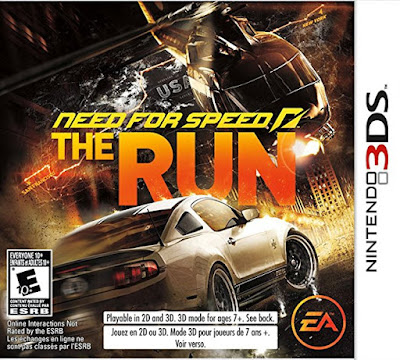 Need for Speed The Run Decrypted 3DS USA